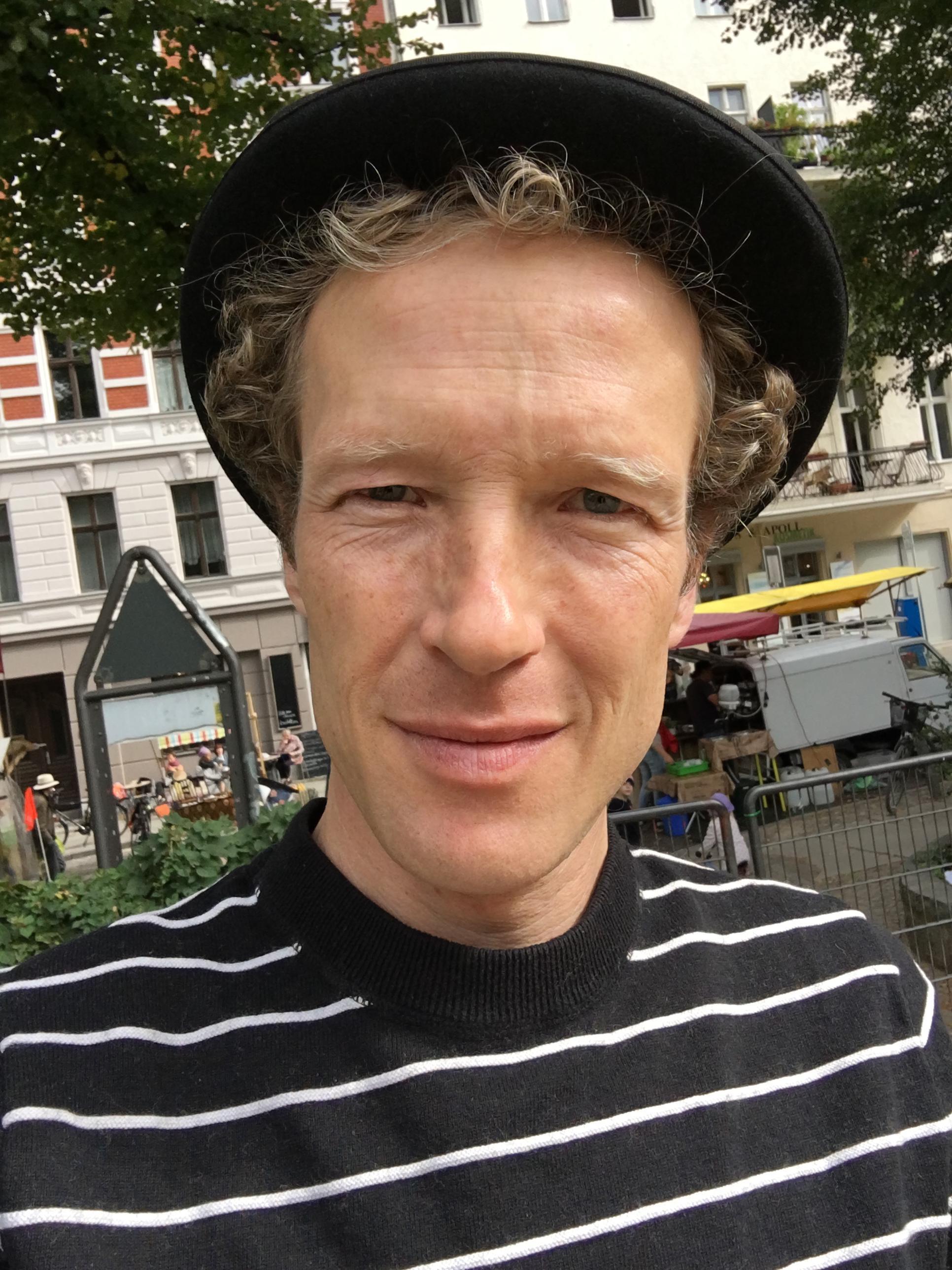 Portrait von Joris Hoffmann