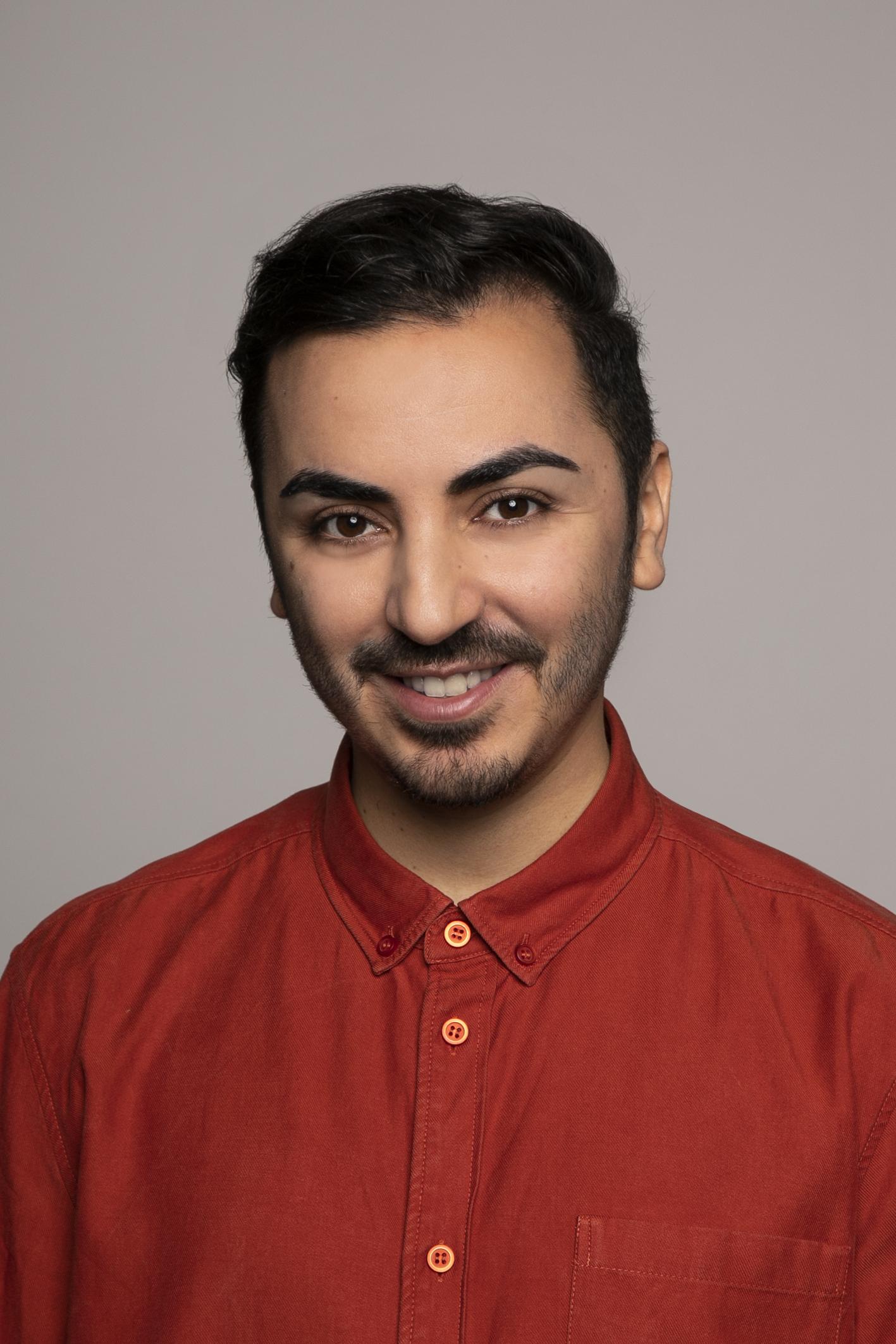 Portrait of Nabil El Carrouchi