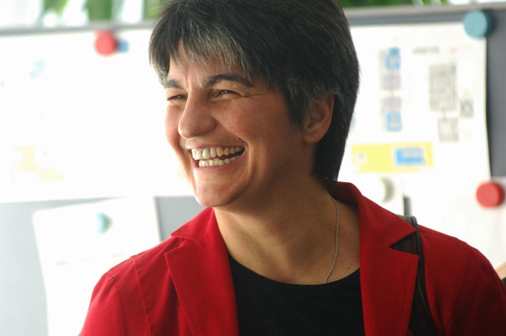 Portrait of Sabine Massa