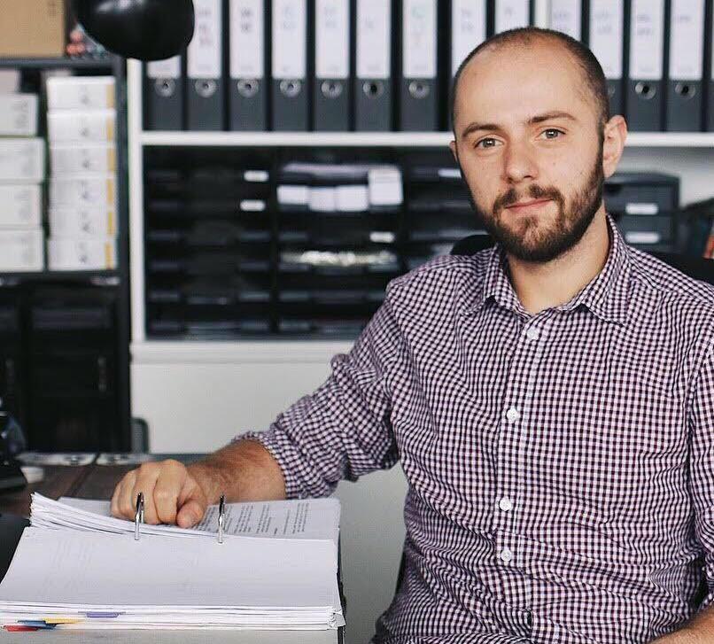 Portrait von Aladin Basanovic