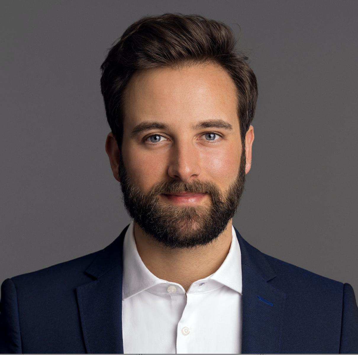 Portrait von Nicolas Brendel