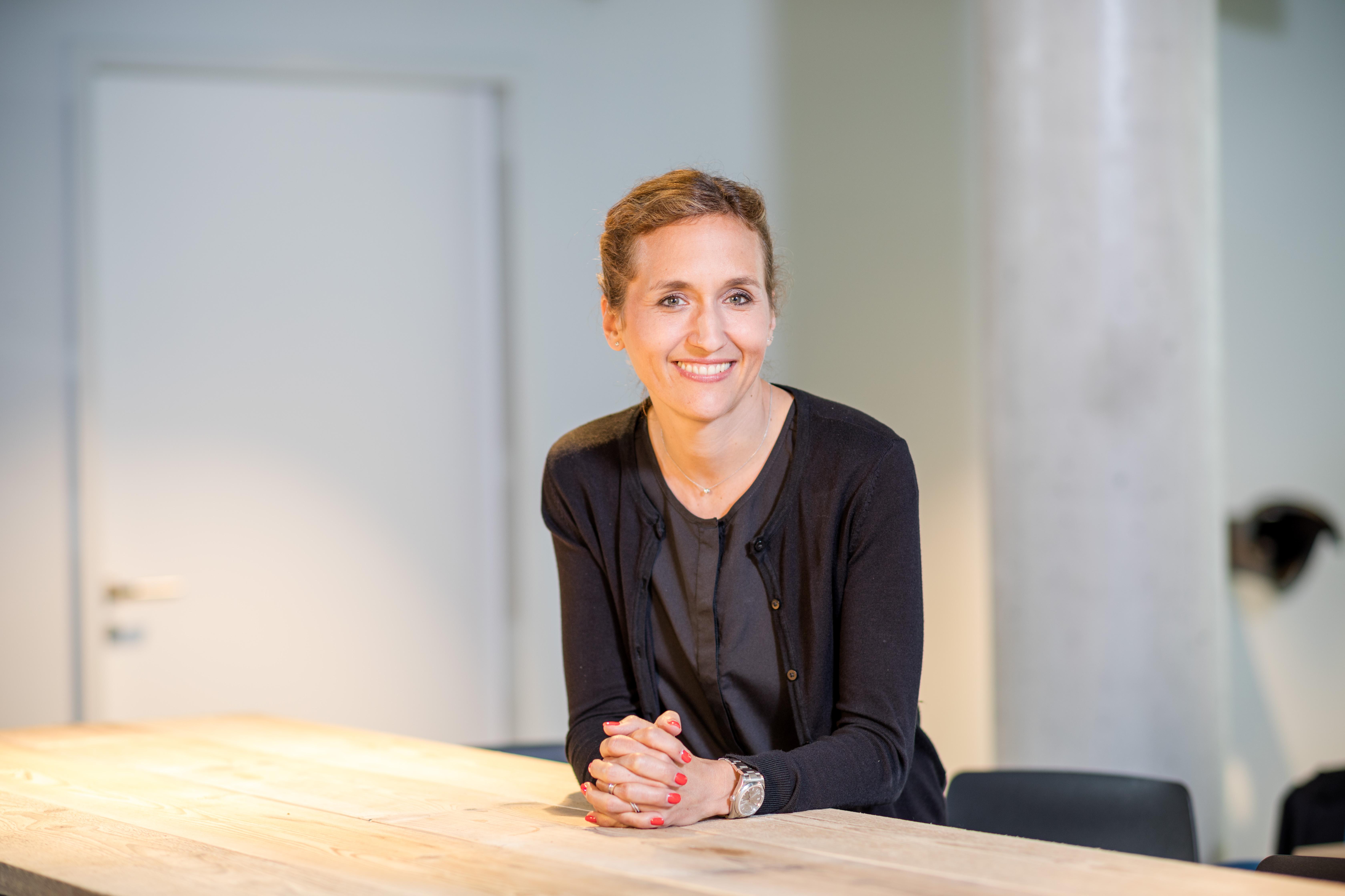 Portrait von Nadine Heigert
