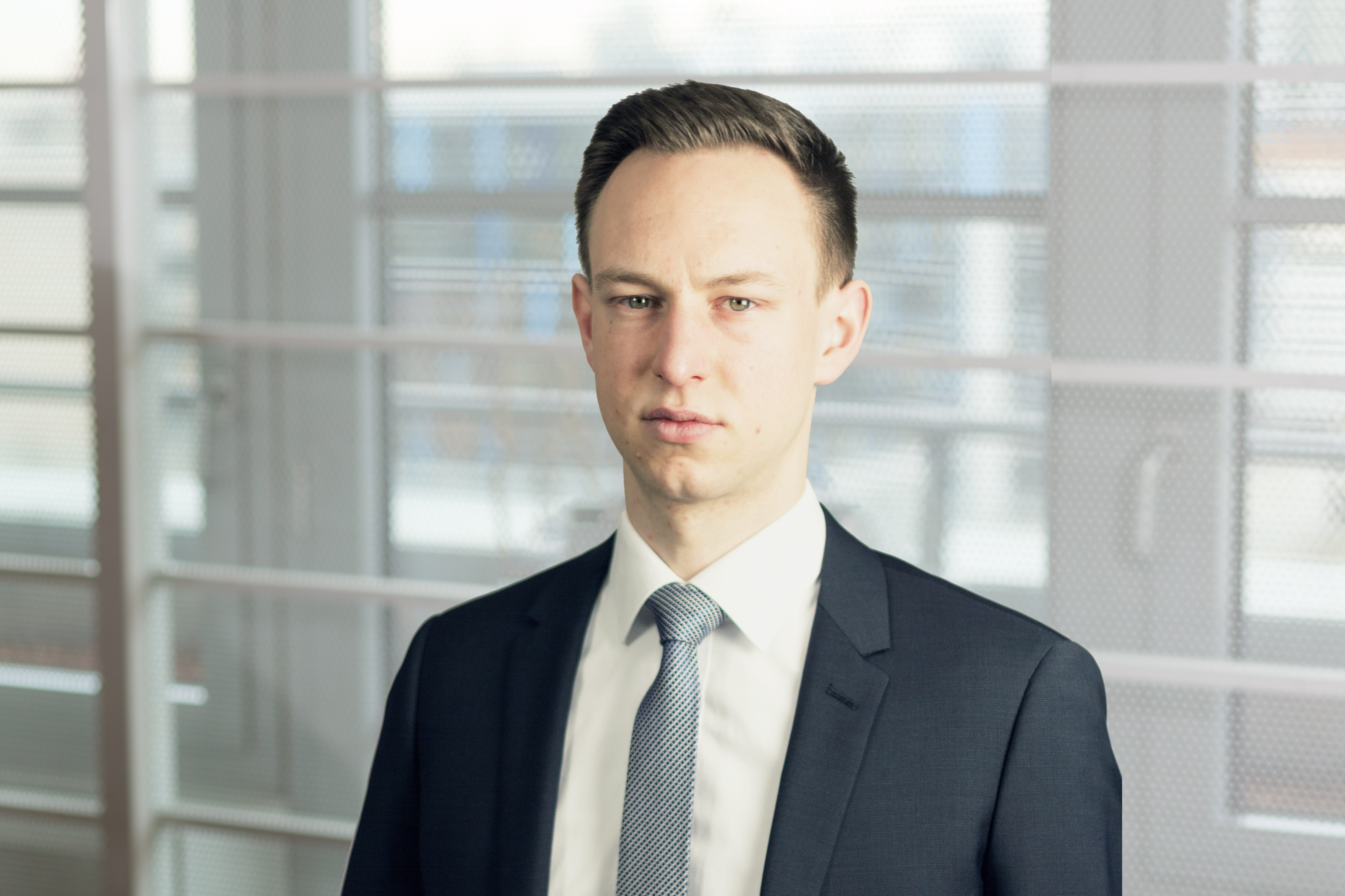 Portrait of Robert Dobroschke