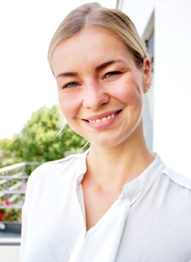 Portrait of Christina Schatz Coppi