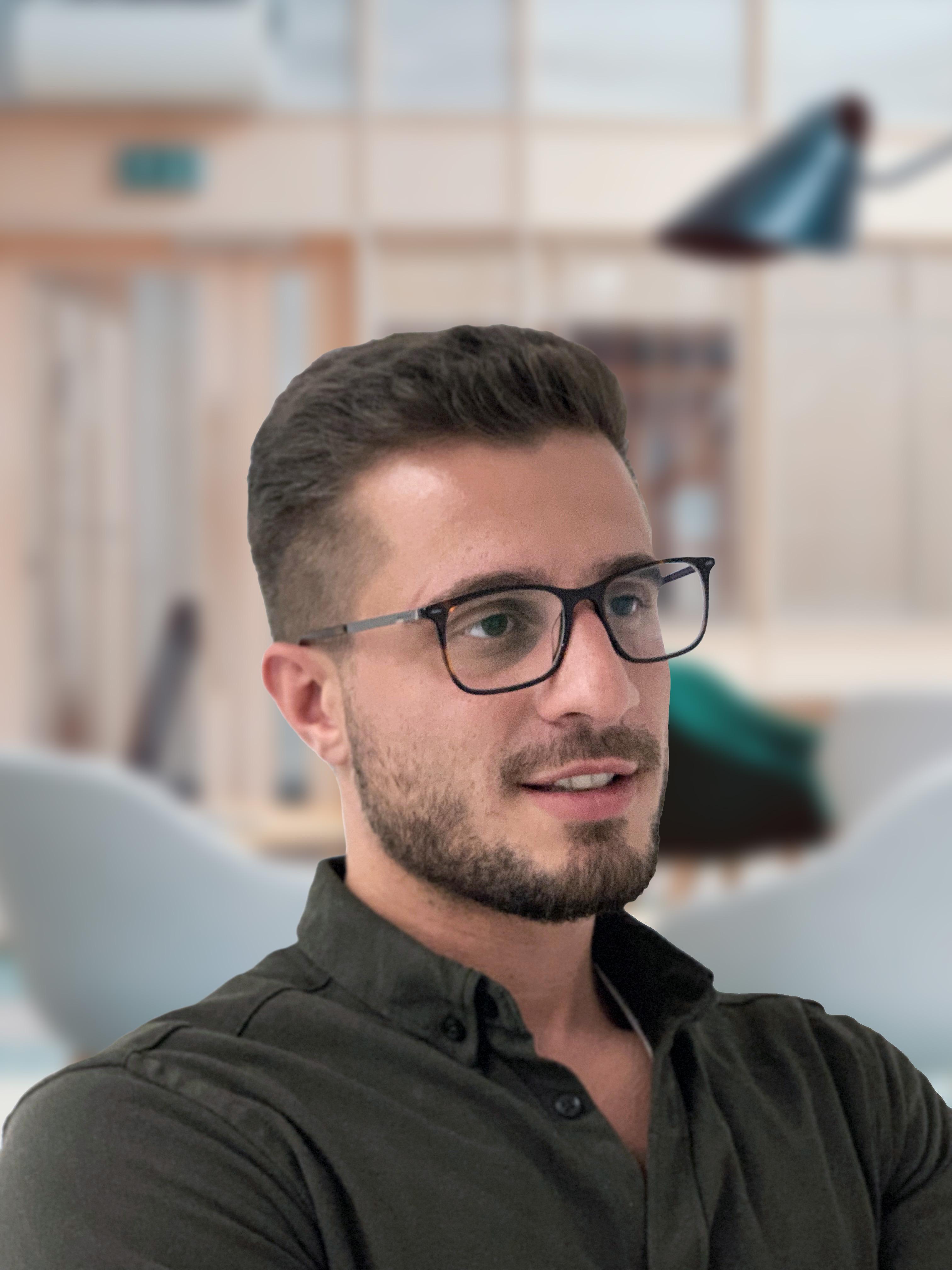 Portrait of Elhan Kolic