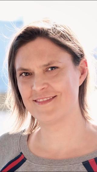 Portrait of Claudia Sticker