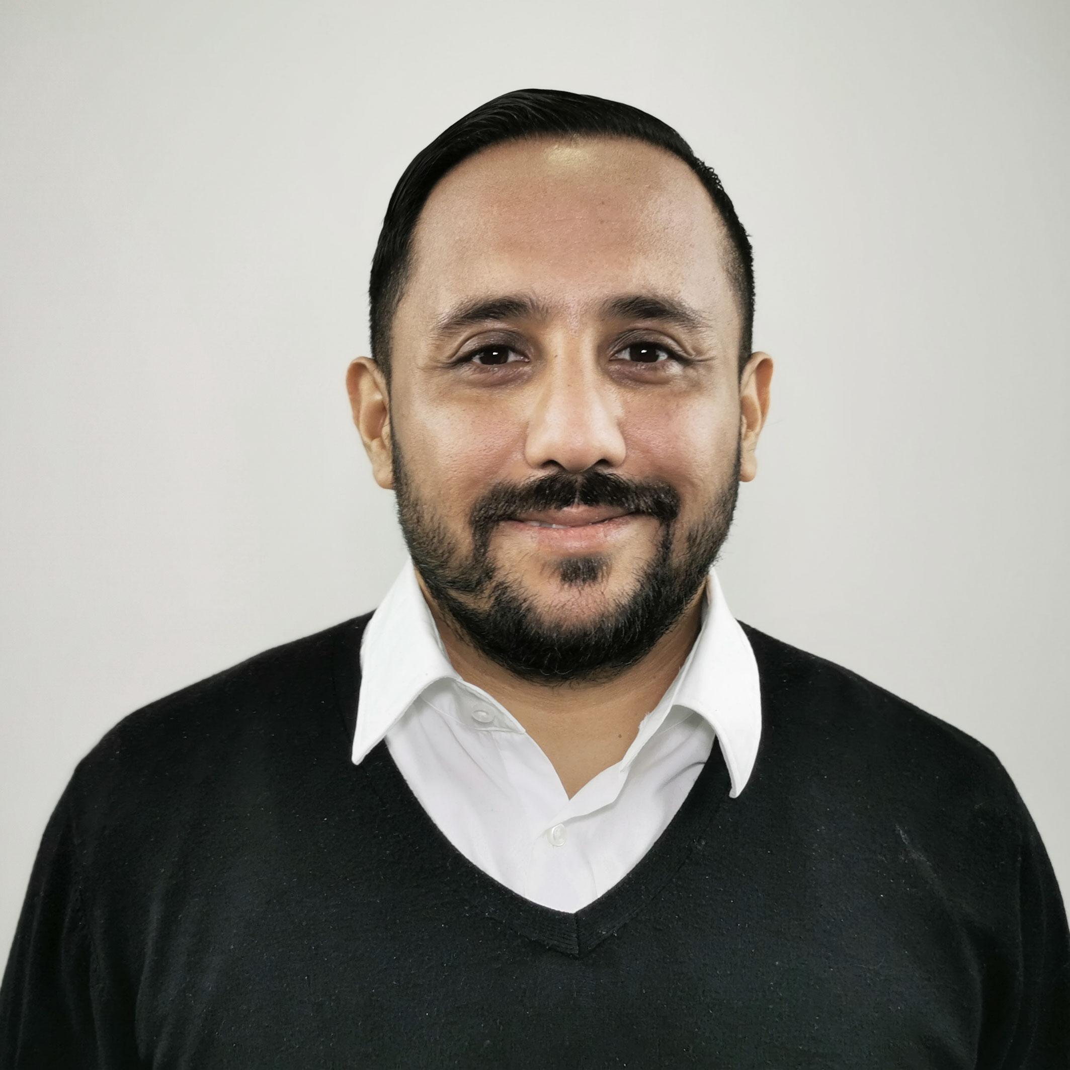 Portrait von Omid Rahimi